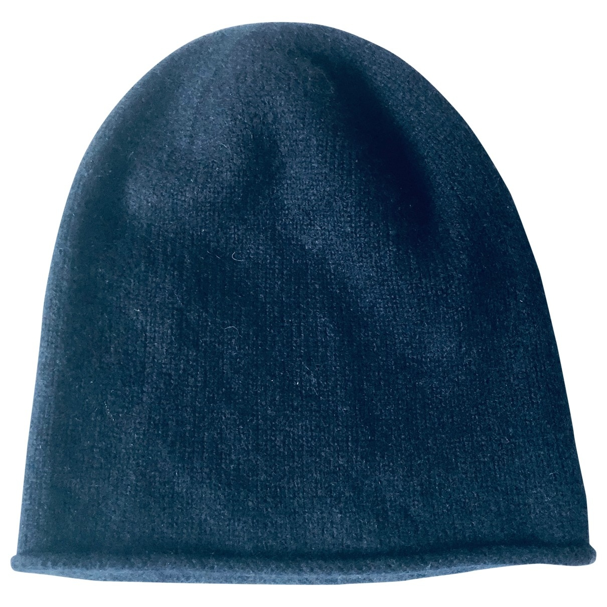 Cos \N Navy Cashmere hat for Women M International