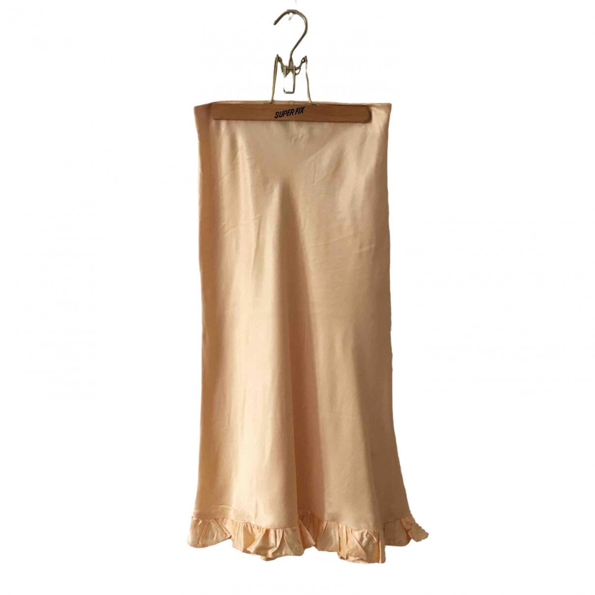 Non Signé / Unsigned \N Orange skirt for Women S International