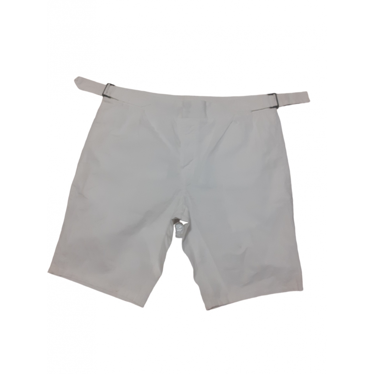 Mauro Grifoni \N Shorts in  Weiss Baumwolle