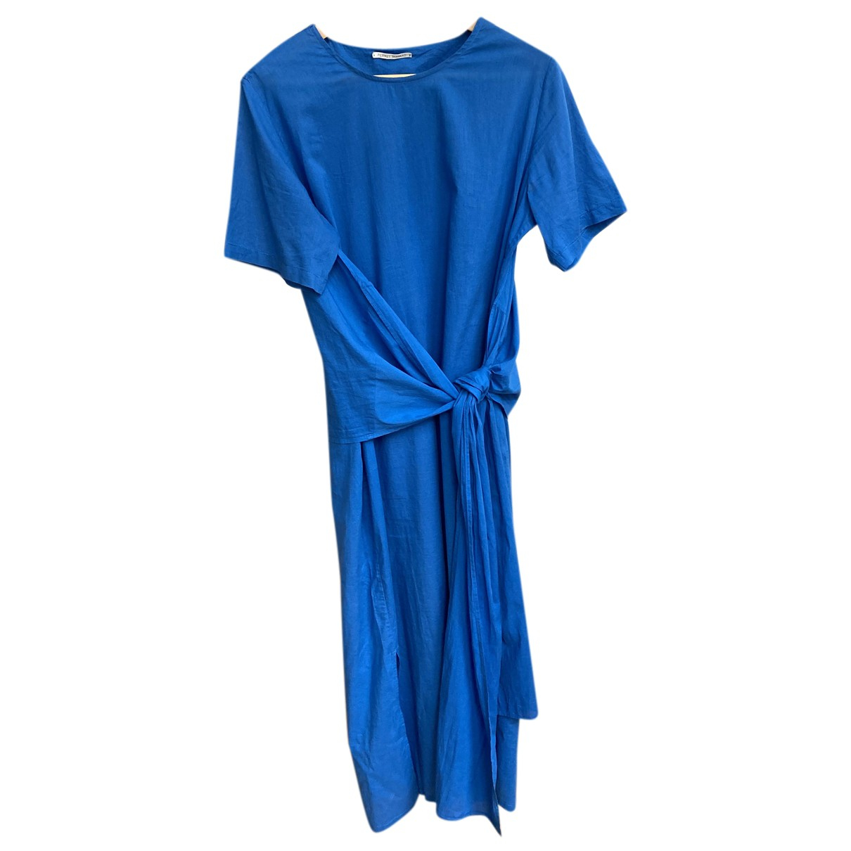 Perret Schaad - Robe   pour femme en coton - bleu