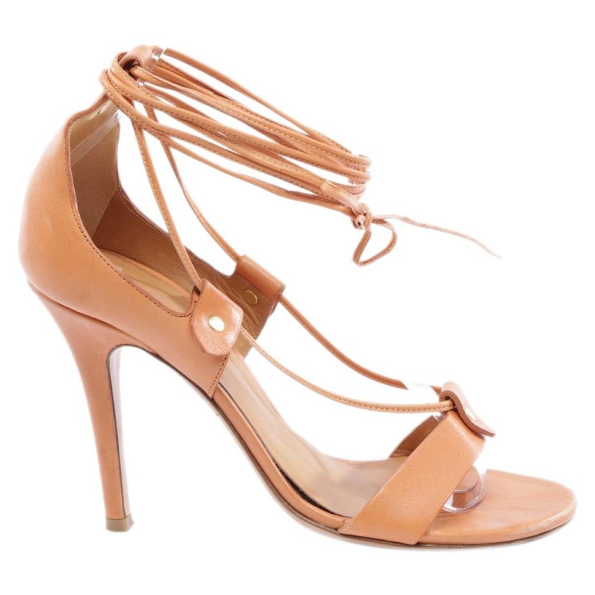Isabel Marant - Sandales   pour femme en cuir - orange