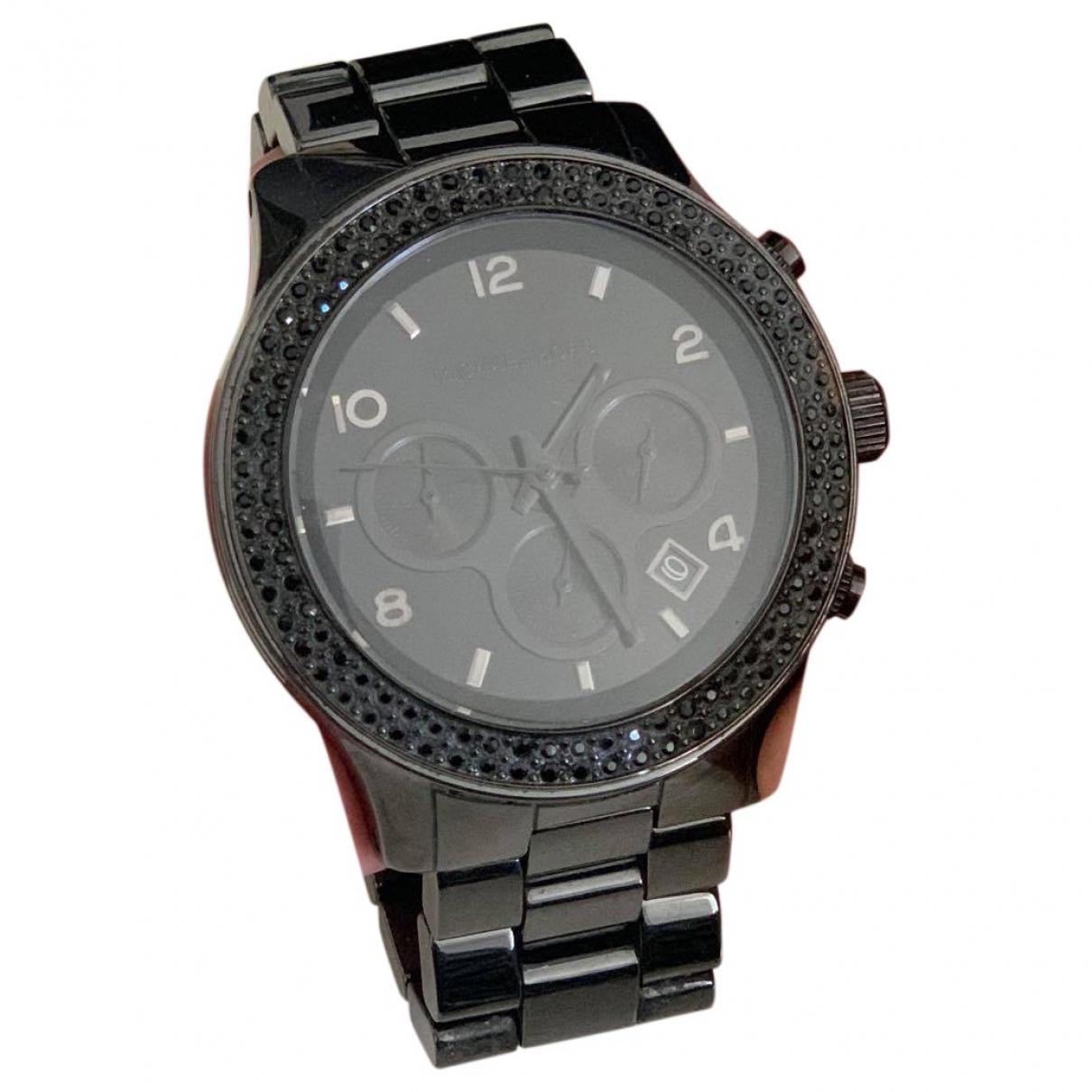 Michael Kors \N Black Steel watch for Women \N