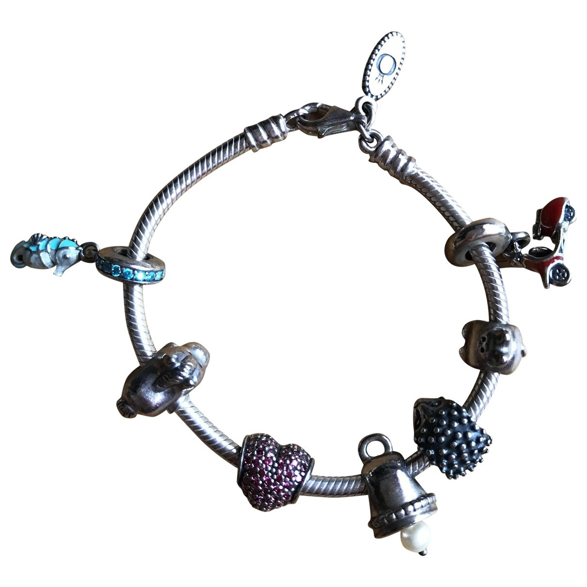 Pandora \N Grey Silver bracelet for Women \N