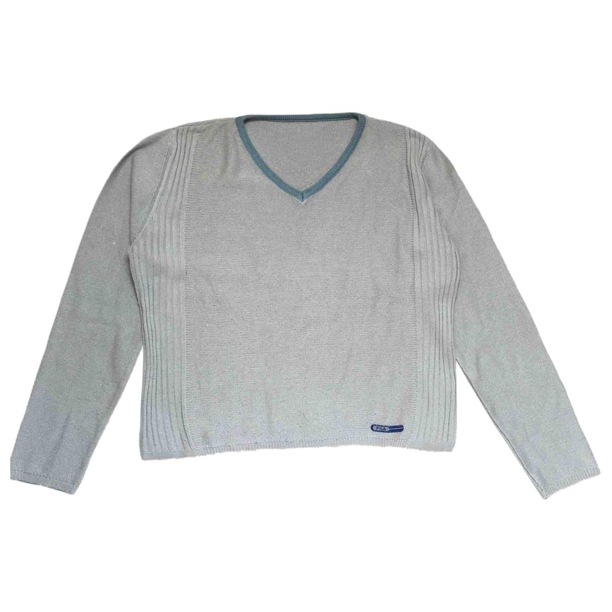 Fila - Pull   pour femme en laine - beige