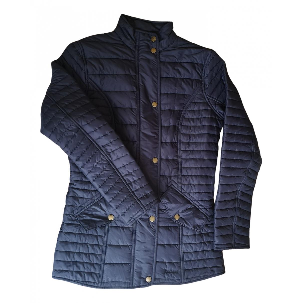 Barbour - Manteau   pour femme - bleu