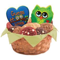 Birthday Owl Gift Basket | Owl Cookie