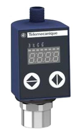Telemecanique Sensors Air, Fresh Water, Hydraulic Oil, Refrigerator Fluid Differential Pressure Switch, 2x PNP-NO/NC 0