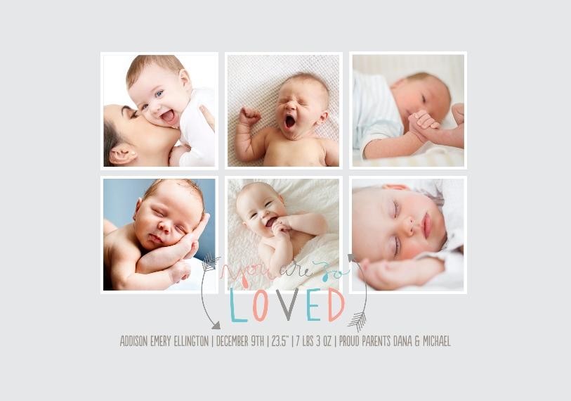 Baby + Kids Framed Canvas Print, Black, 20x30, Home Décor -So Loved