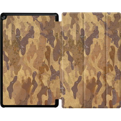 Amazon Fire HD 10 (2017) Tablet Smart Case - Camo Bark von caseable Designs