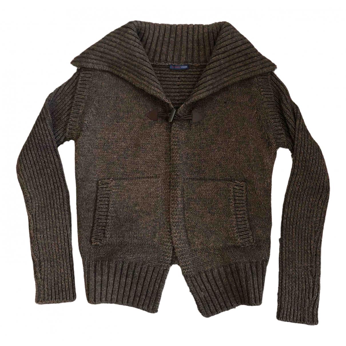 Trussardi Jeans \N Brown Wool Knitwear for Women M International