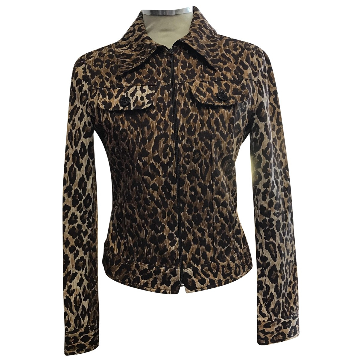 Dolce & Gabbana - Veste   pour femme en denim - marron