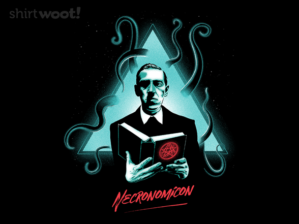 Neon Necronomicon T Shirt