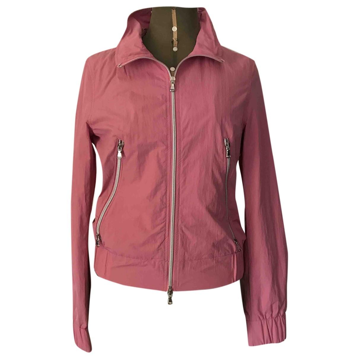 Max & Co - Veste   pour femme en coton - rose