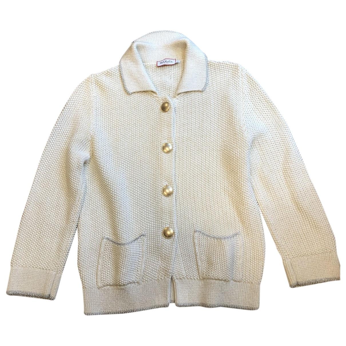 Max & Co \N White Cotton Knitwear for Women 40 IT