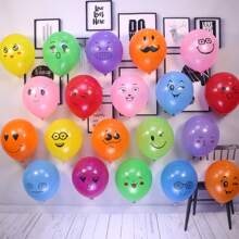 20pcs Cartoon Graphic Decorative Balloon