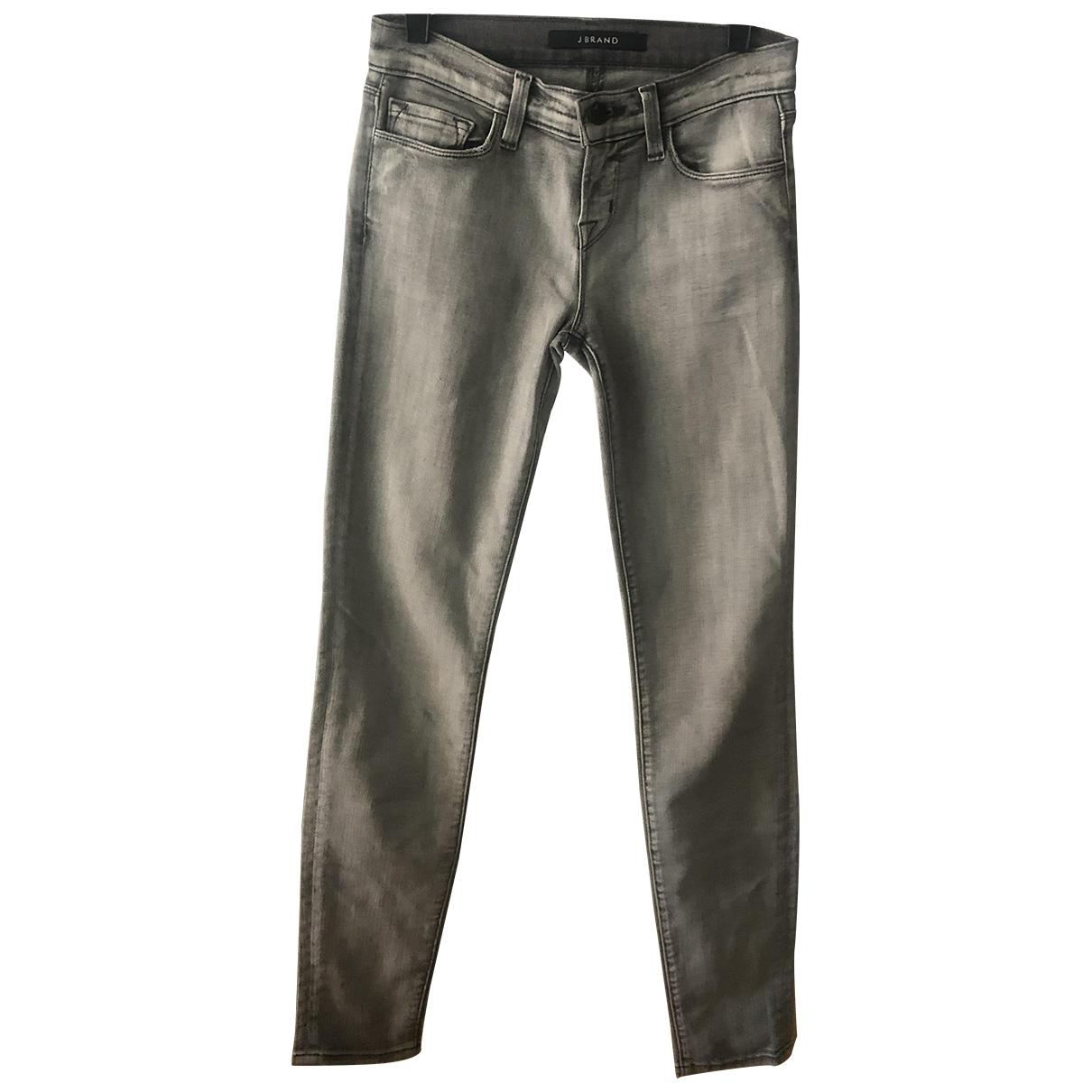J Brand \N Grey Denim - Jeans Trousers for Women 36 IT