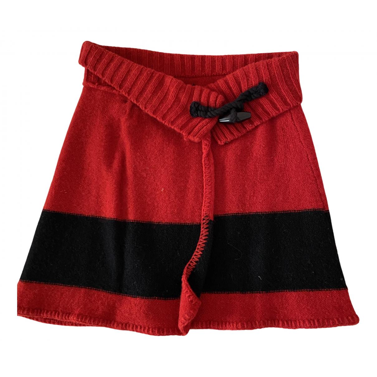 Ralph Lauren - Jupe   pour enfant en laine - rouge