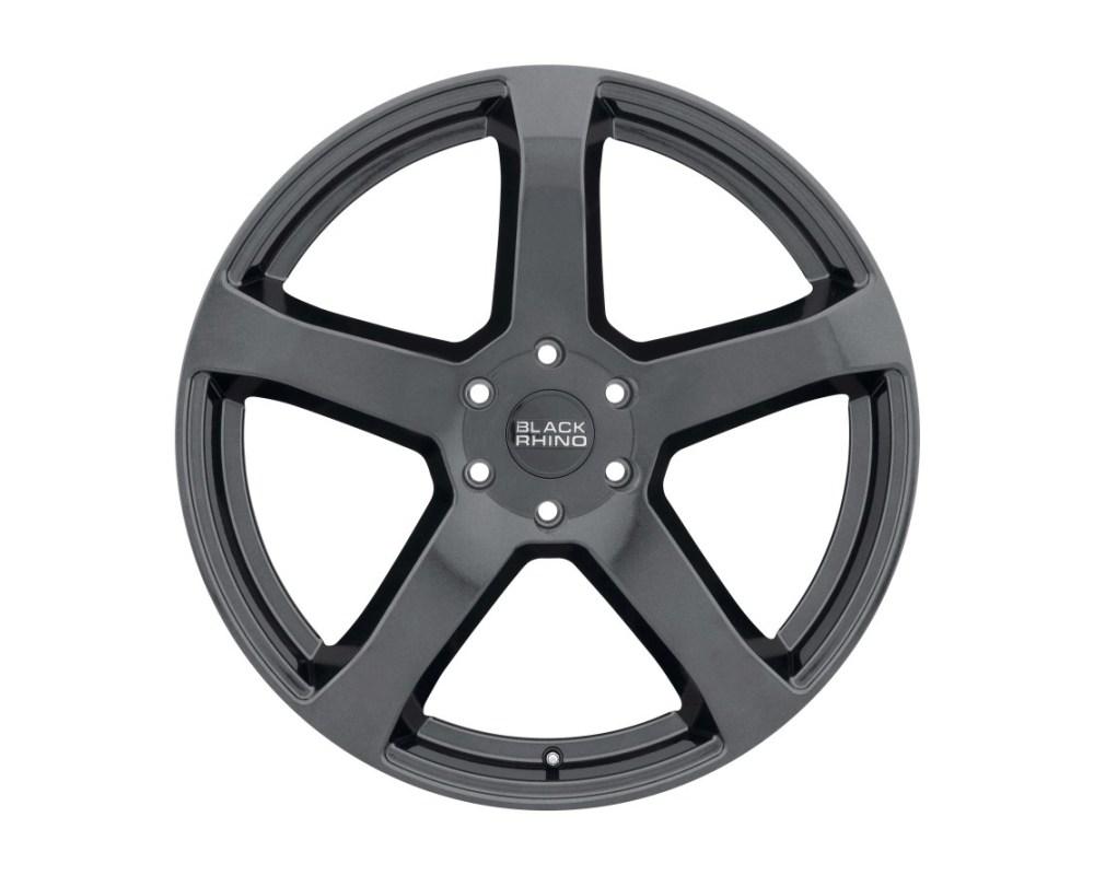 Black Rhino Faro Metallic Black Wheel 20x9 5x114.30 5x4.5 30mm CB76.1