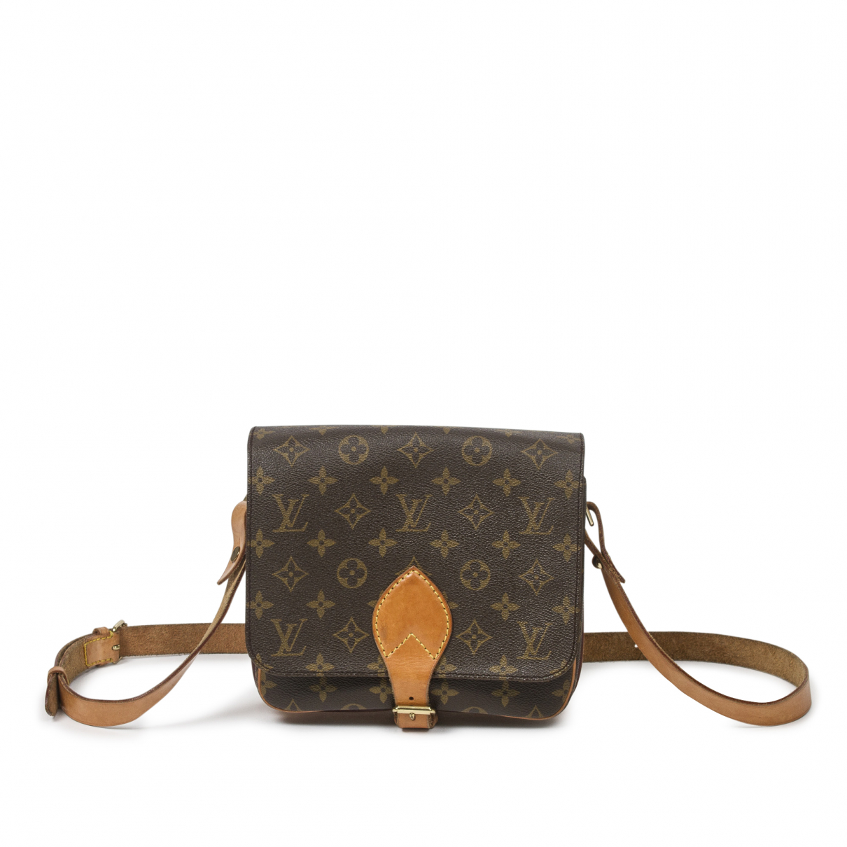 Louis Vuitton Cartouchière Brown Cotton handbag for Women \N