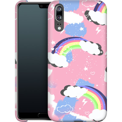 Huawei P20 Smartphone Huelle - Unicorn Rainbow von Mukta Lata Barua