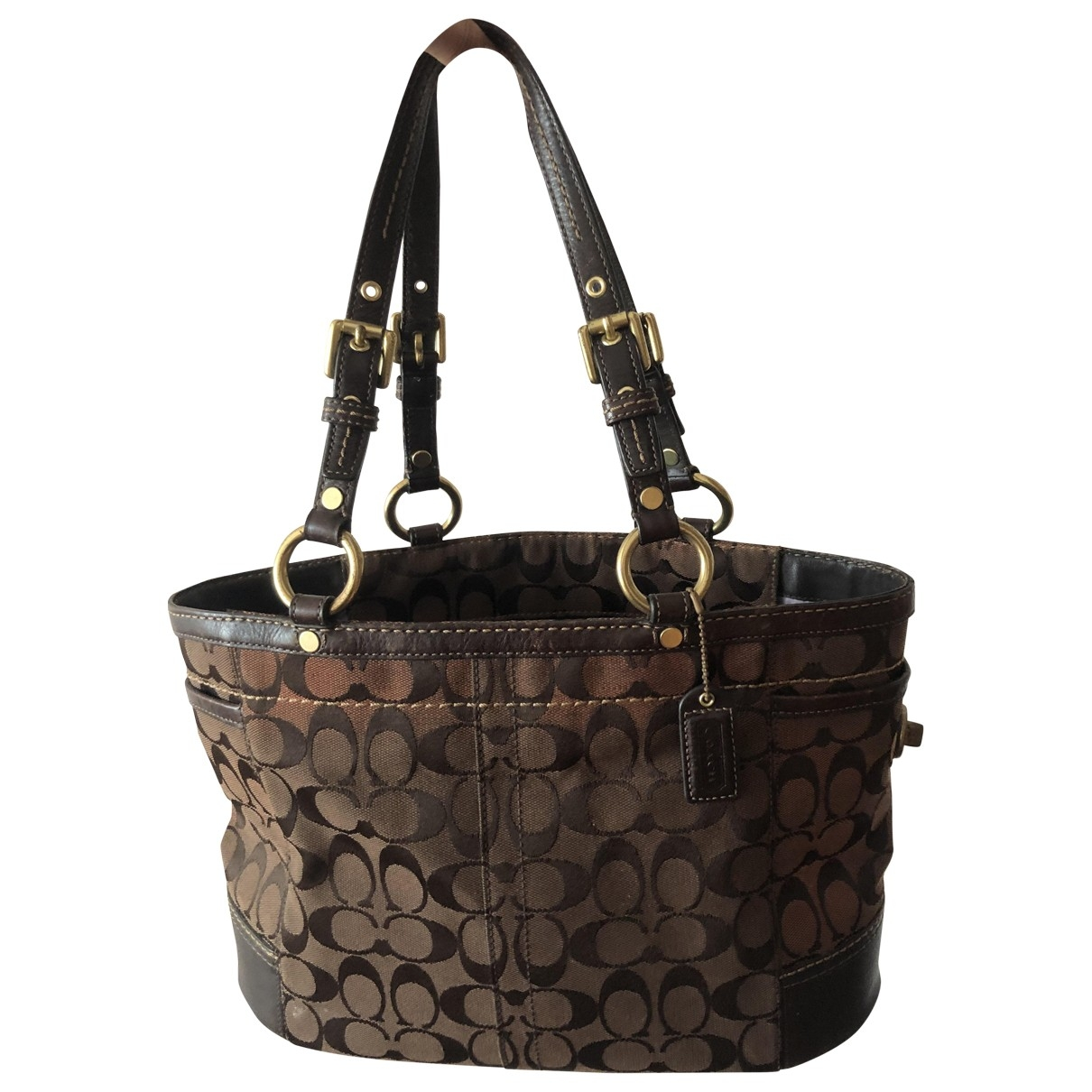 Coach \N Brown Cloth handbag for Women \N