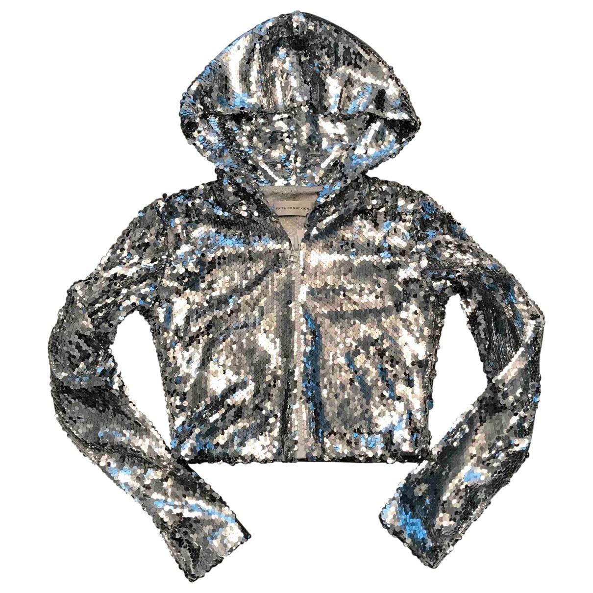 Faith Connexion \N Silver Glitter jacket for Women XS International