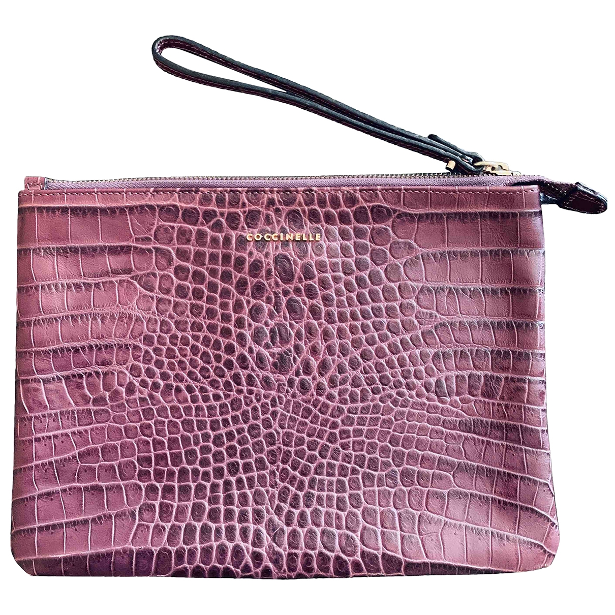 Coccinelle \N Burgundy Leather Clutch bag for Women \N