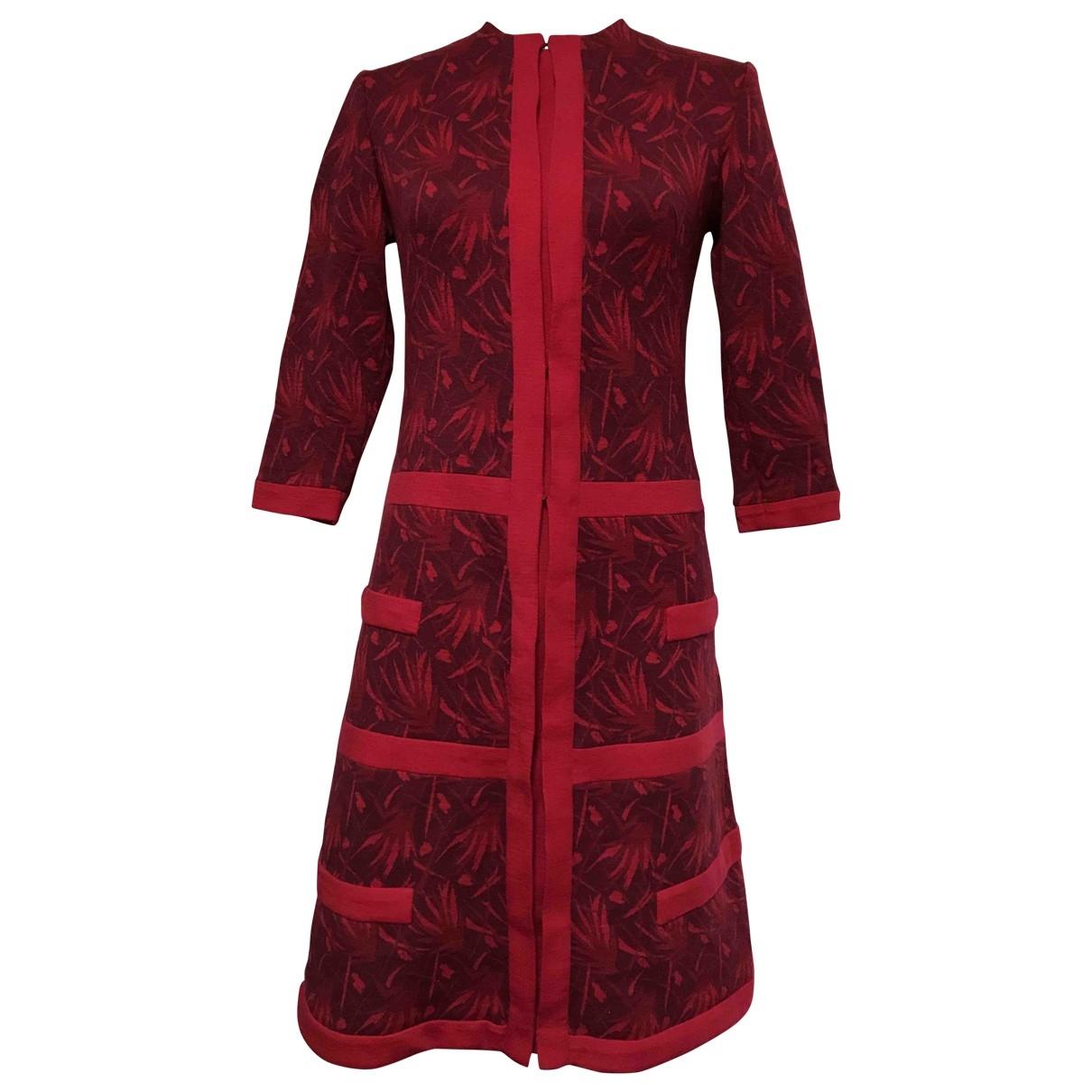 Vestido midi Artisanal de Lana Non Signe / Unsigned