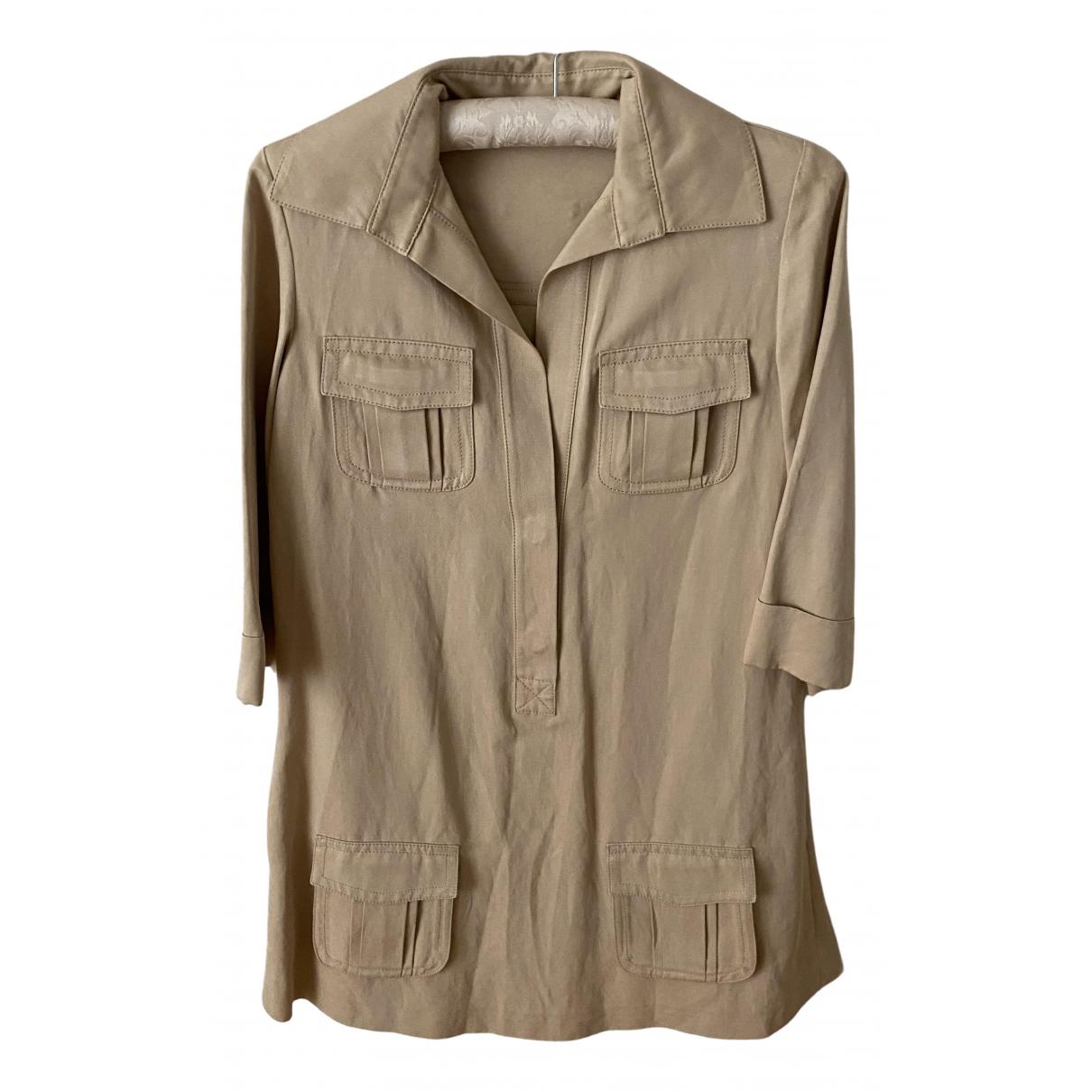 Diane Von Furstenberg N Beige Cotton dress for Women 38 FR