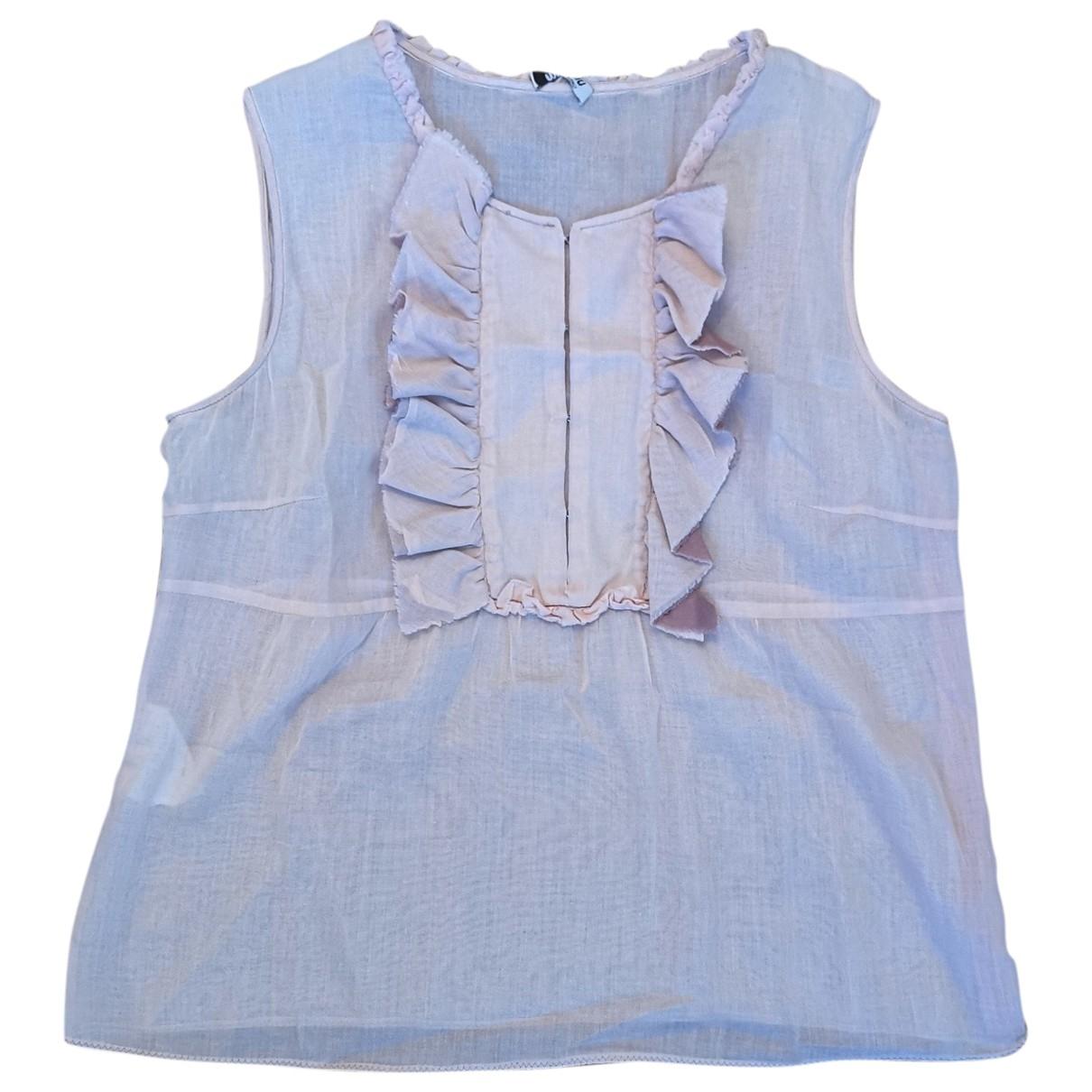 Miu Miu \N Pink Cotton  top for Women 44 IT