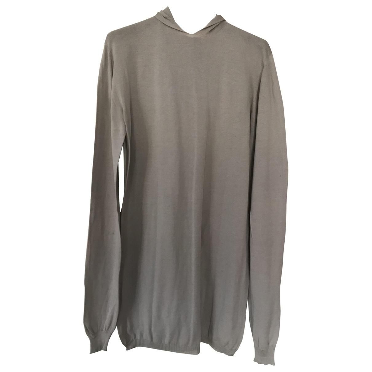 Rick Owens - Pull   pour femme en coton - beige