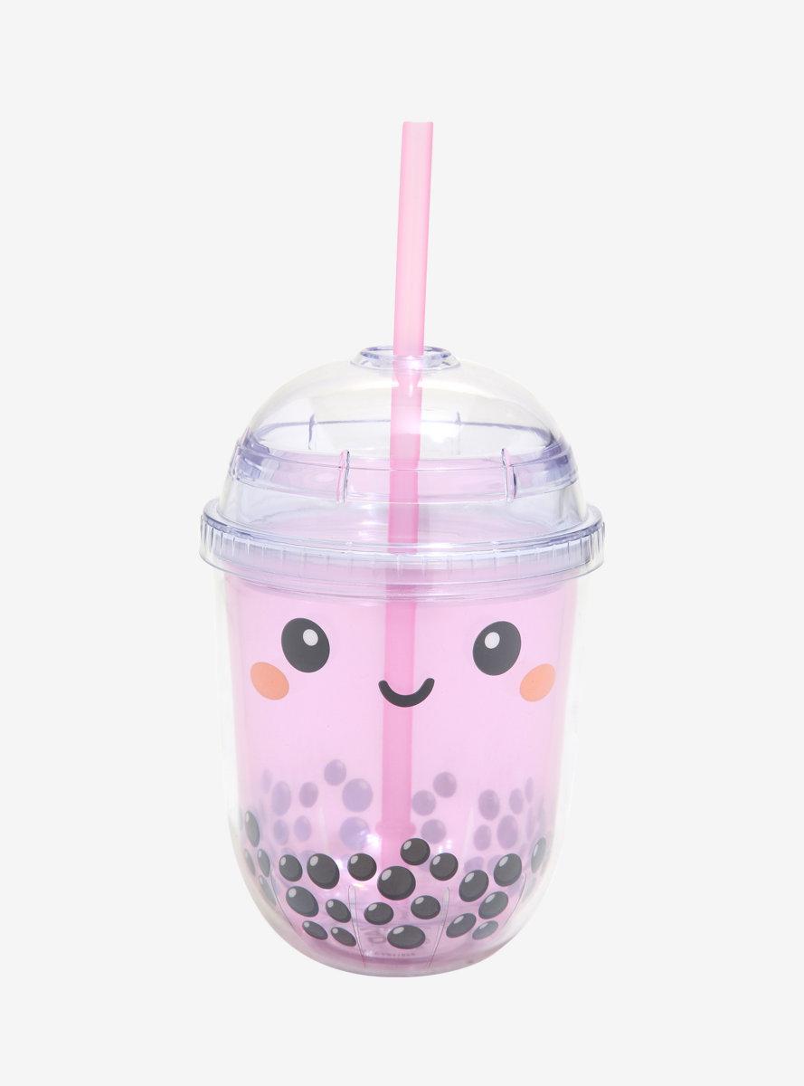 Happy Boba Beverage Tumbler - BoxLunch Exclusive