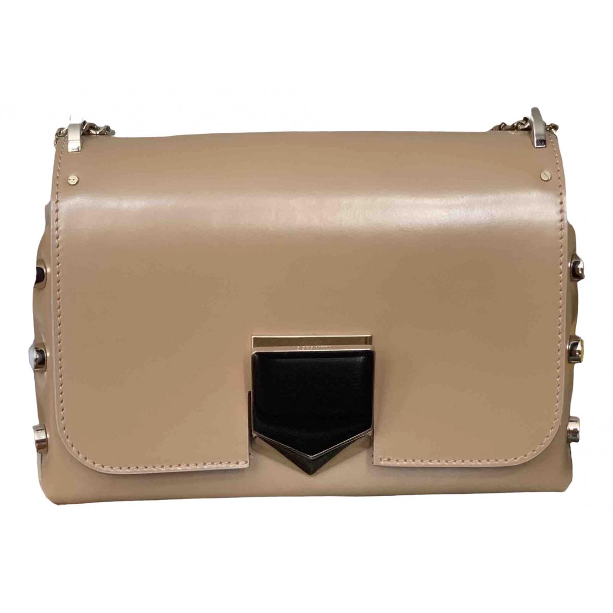 Jimmy Choo Lockett Beige Leather handbag for Women \N