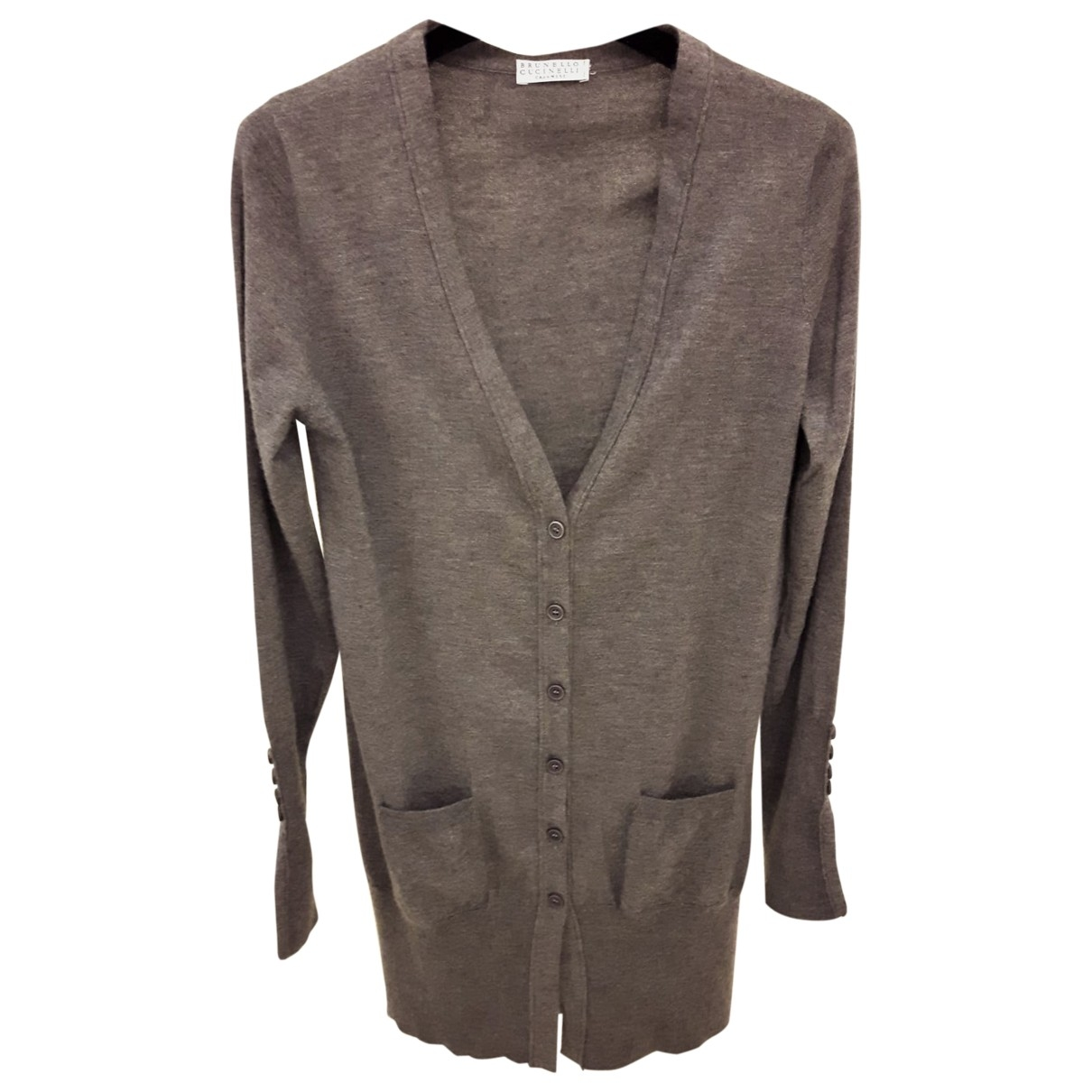 Brunello Cucinelli \N Grey Cashmere Knitwear for Women S International
