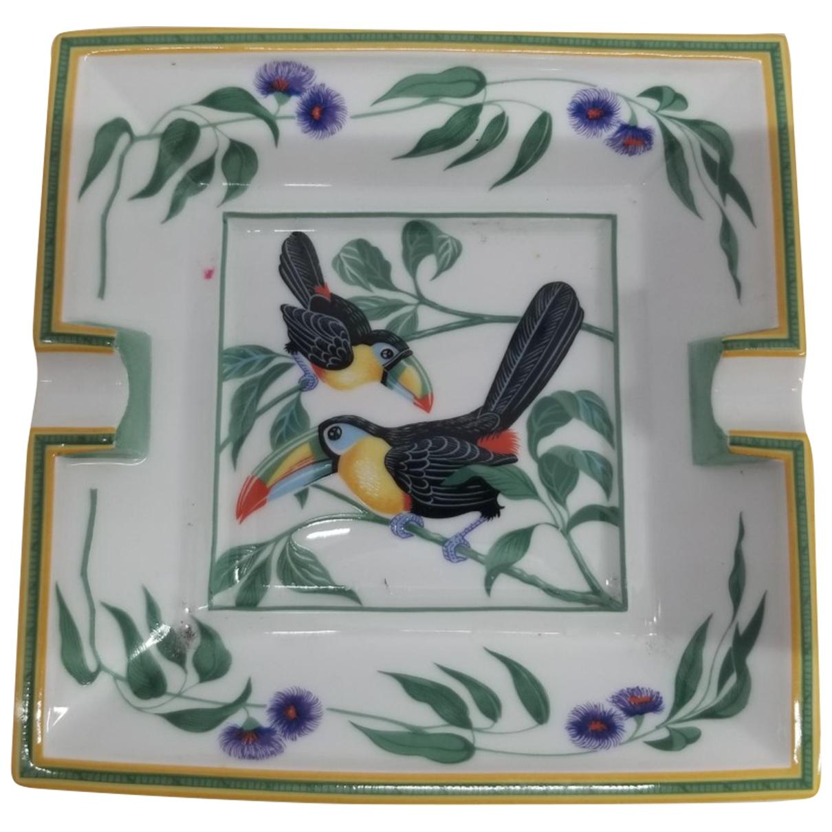 Hermes - Objets & Deco Toucans pour lifestyle en porcelaine - multicolore