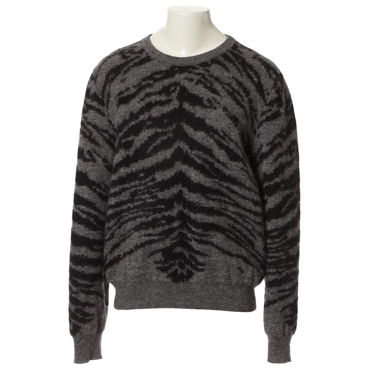 Saint Laurent \N Grey Wool Knitwear for Women XL International