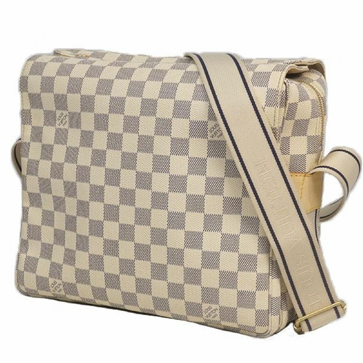 Louis Vuitton Naviglio Cloth handbag for Women \N