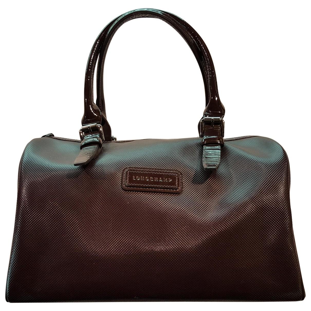 Longchamp \N Handtasche in  Bordeauxrot Synthetik