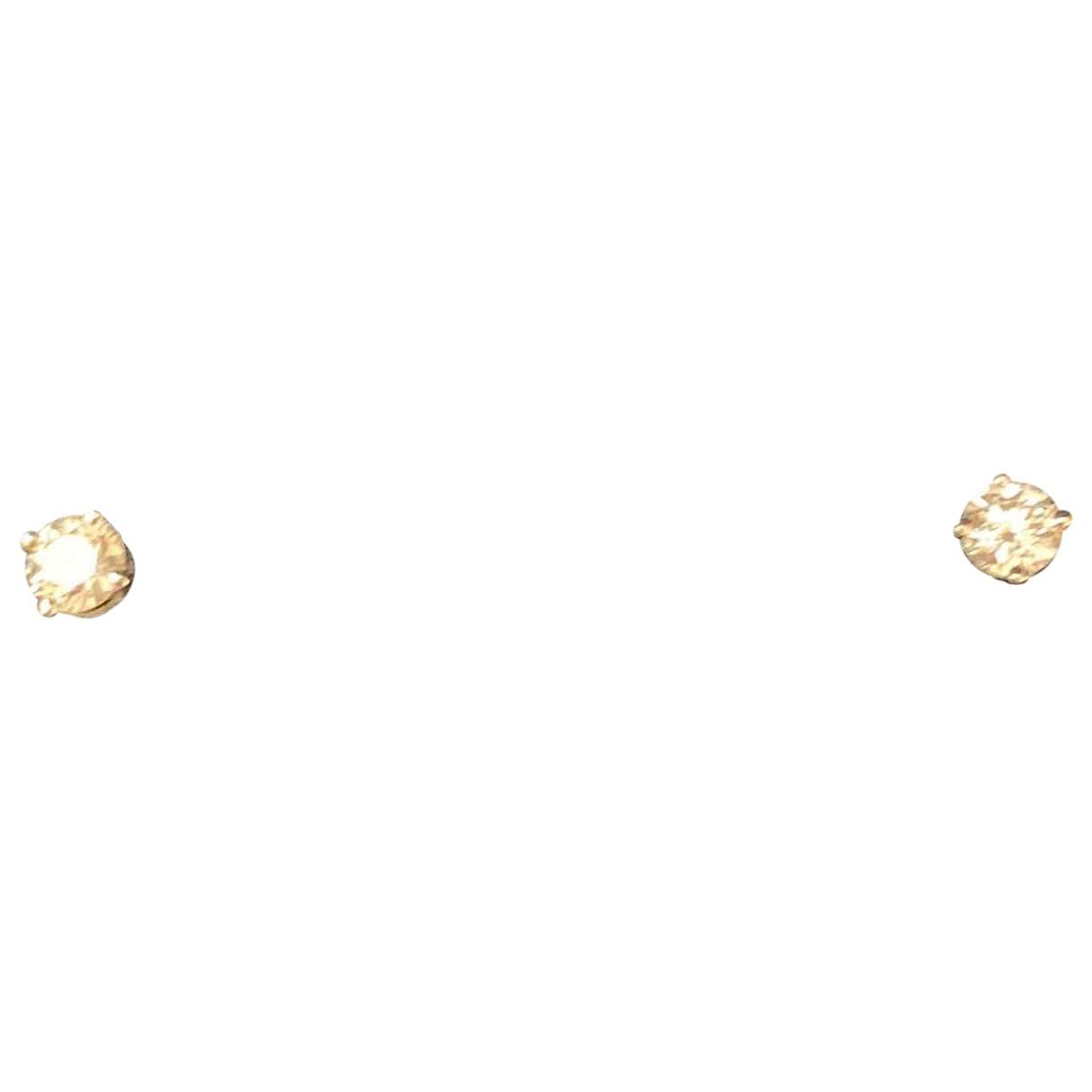 Tiffany & Co - Boucles doreilles   pour femme en platine - argente