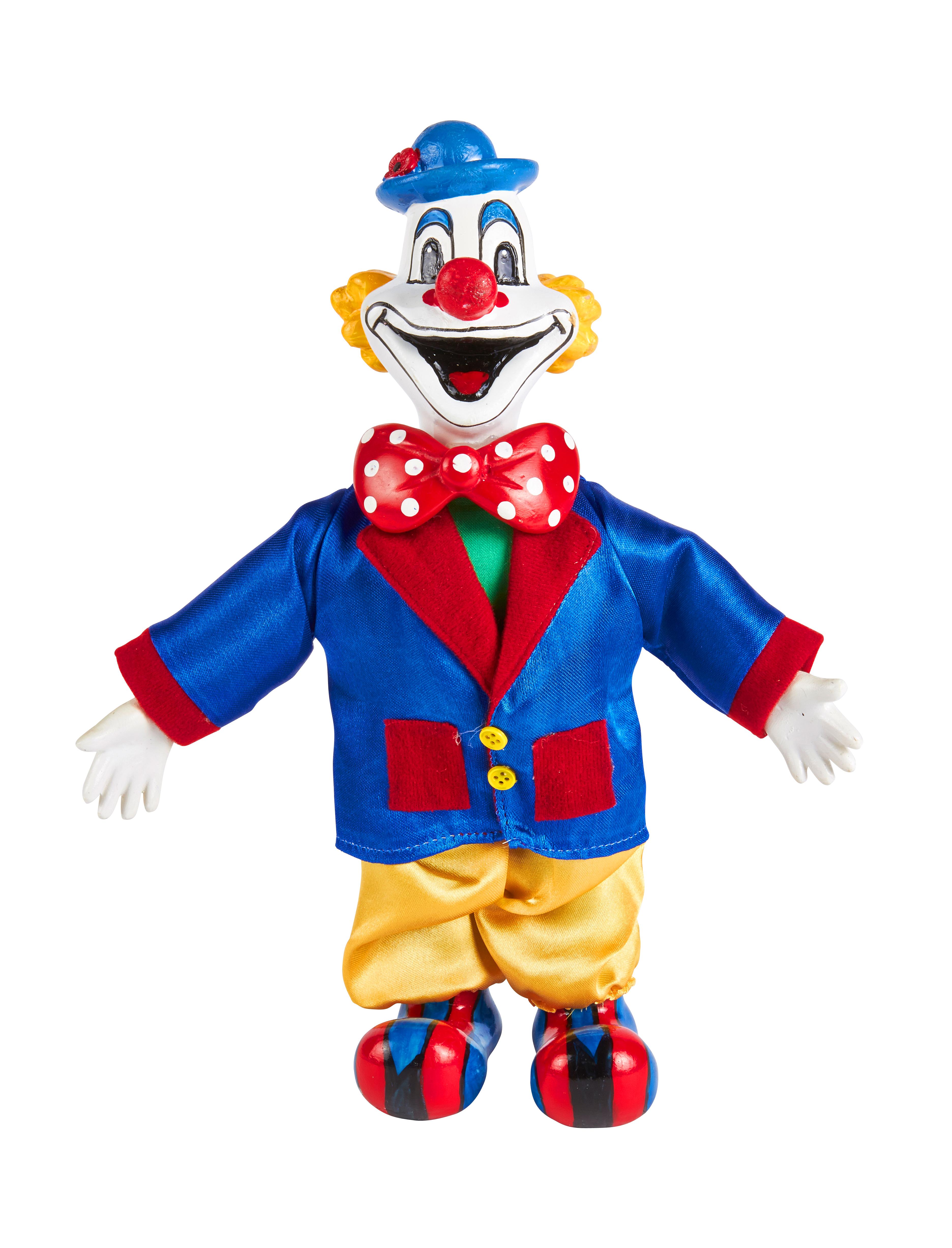 Kostuemzubehor Deiters Clown 25cm Farbe: multicolor bzw. bunt
