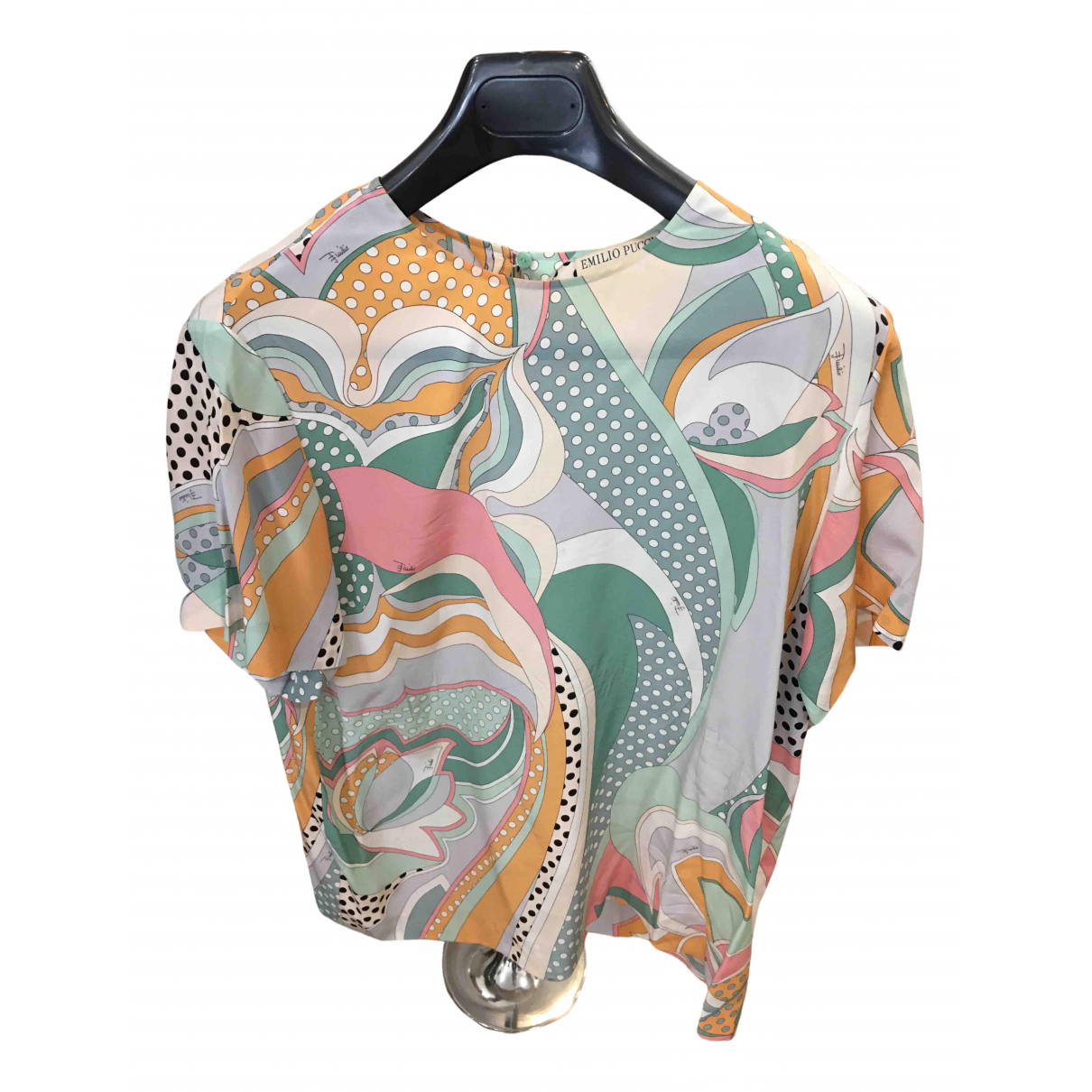 Emilio Pucci N Multicolour Silk  top for Women 42 IT