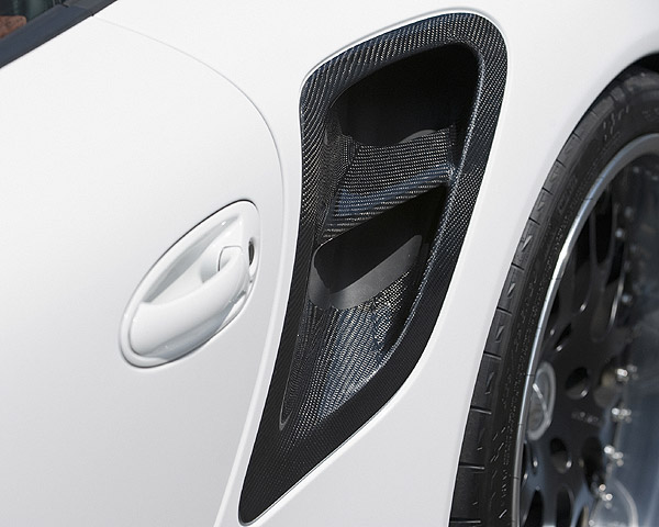 Hamann 13 097 119 Air Intake Covers Lateral 997 GT2 08-09