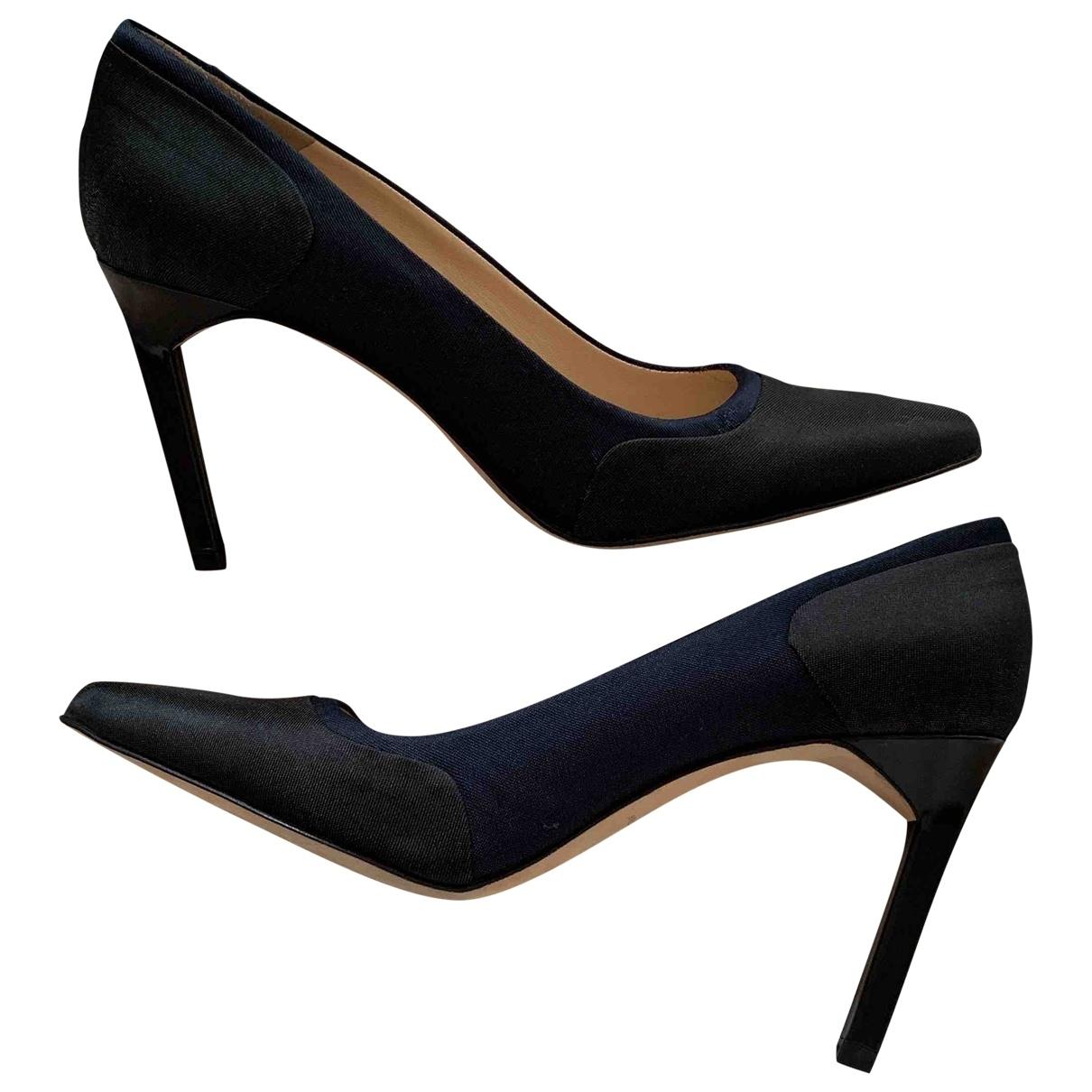 Tara Jarmon \N Black Cloth Heels for Women 38 EU
