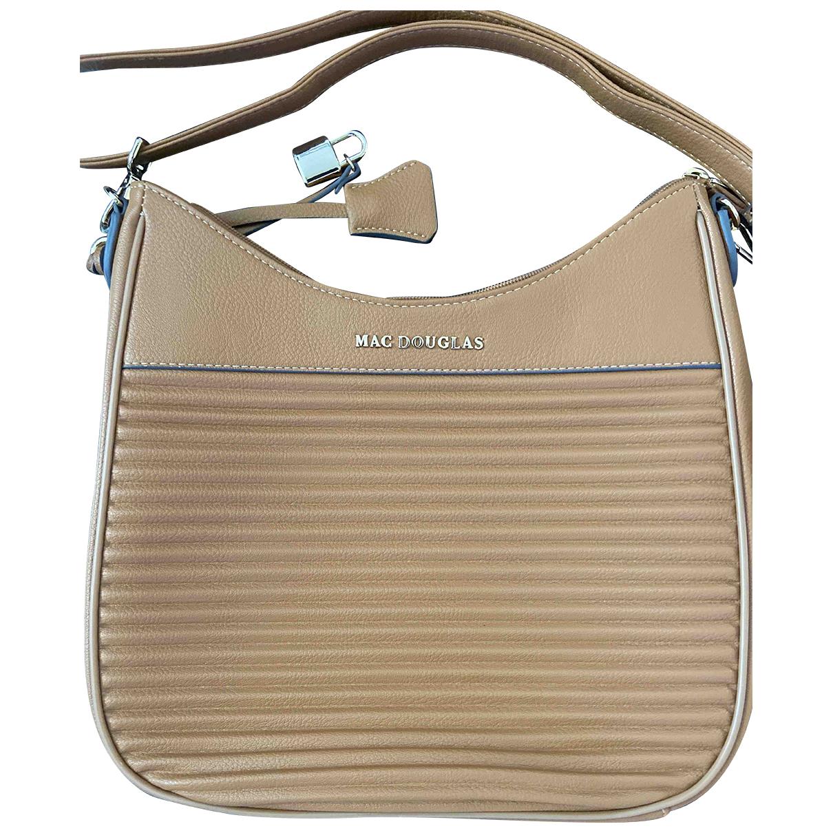 Mac Douglas \N Camel Leather handbag for Women \N