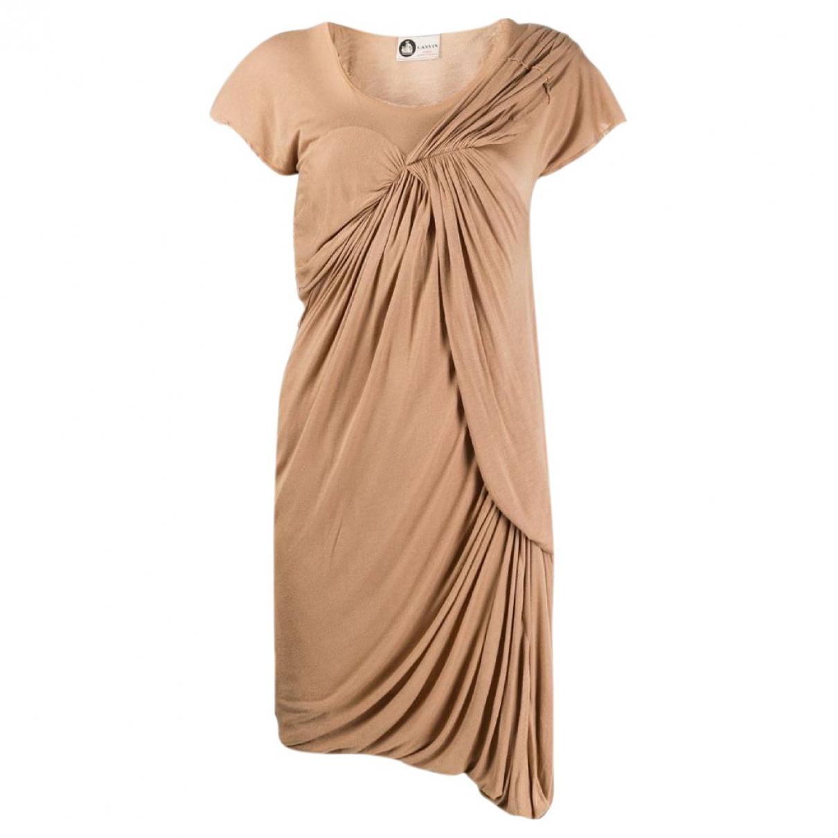 Lanvin - Robe   pour femme - beige