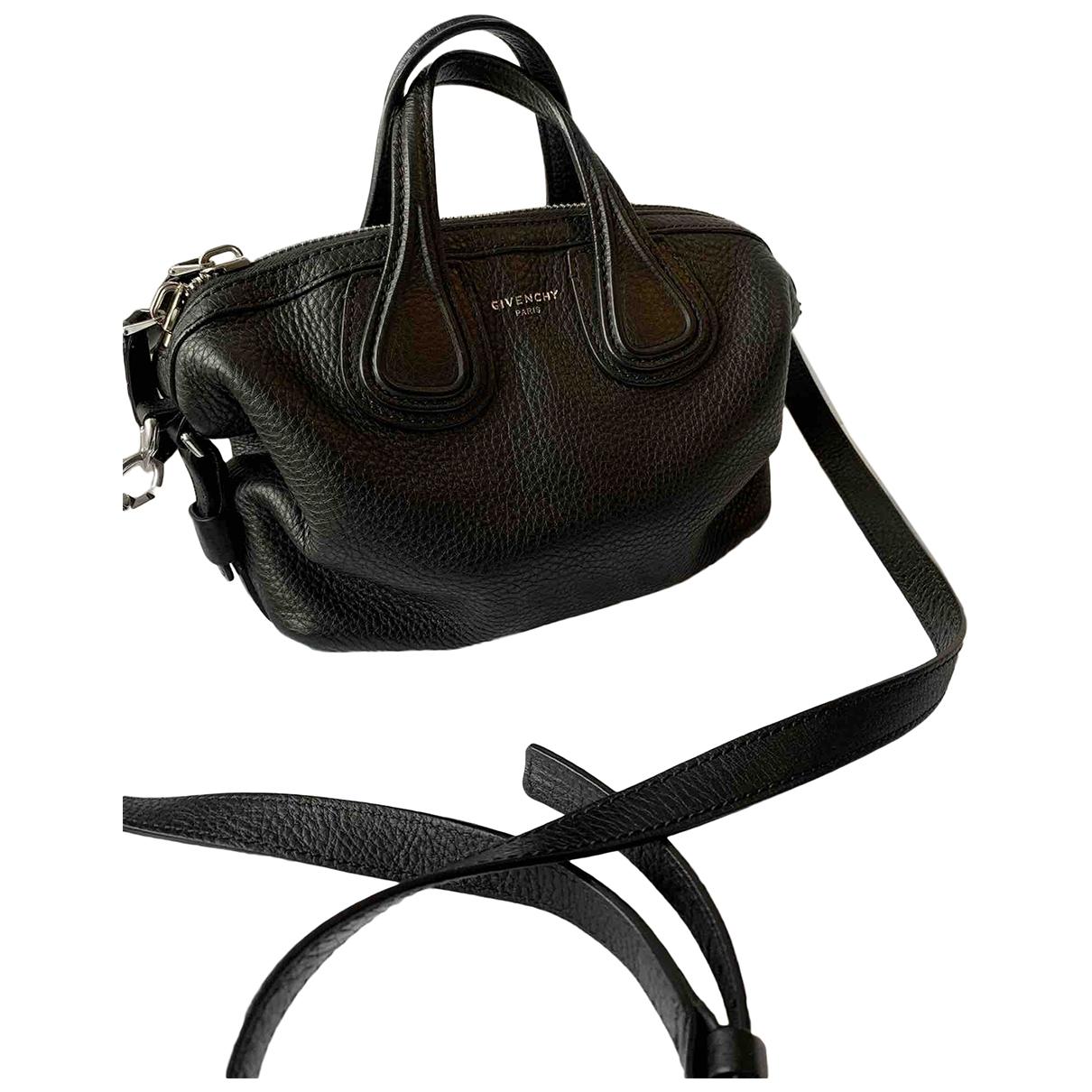 Givenchy - Sac a main Nightingale pour femme en cuir - noir