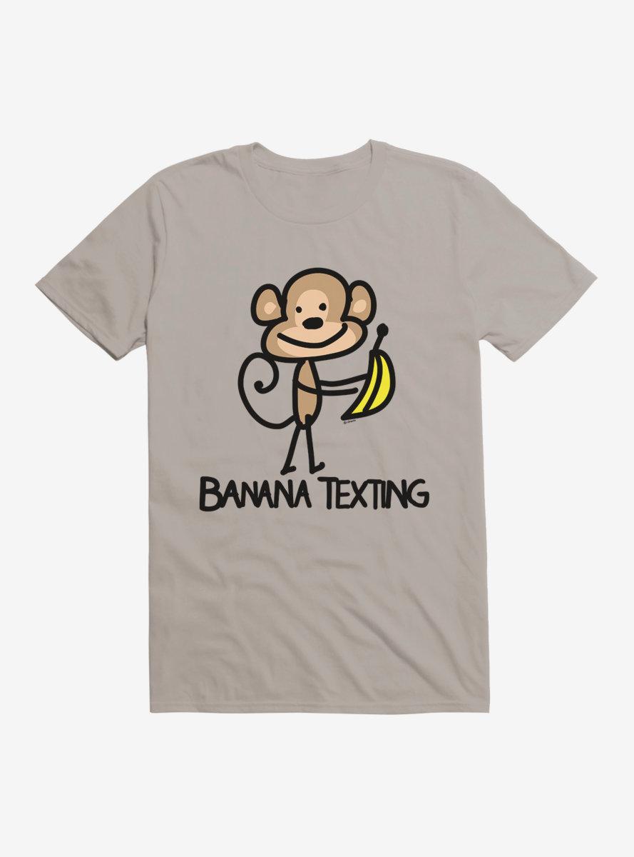 i-Create Banana Texting Monkey T-Shirt