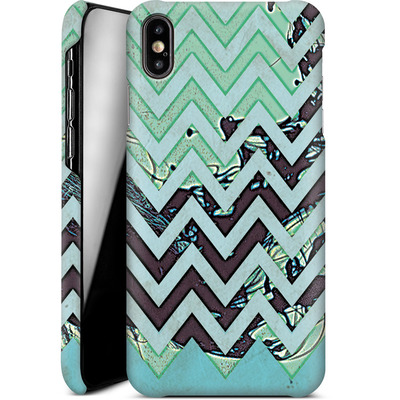 Apple iPhone XS Max Smartphone Huelle - Electric Ink von caseable Designs