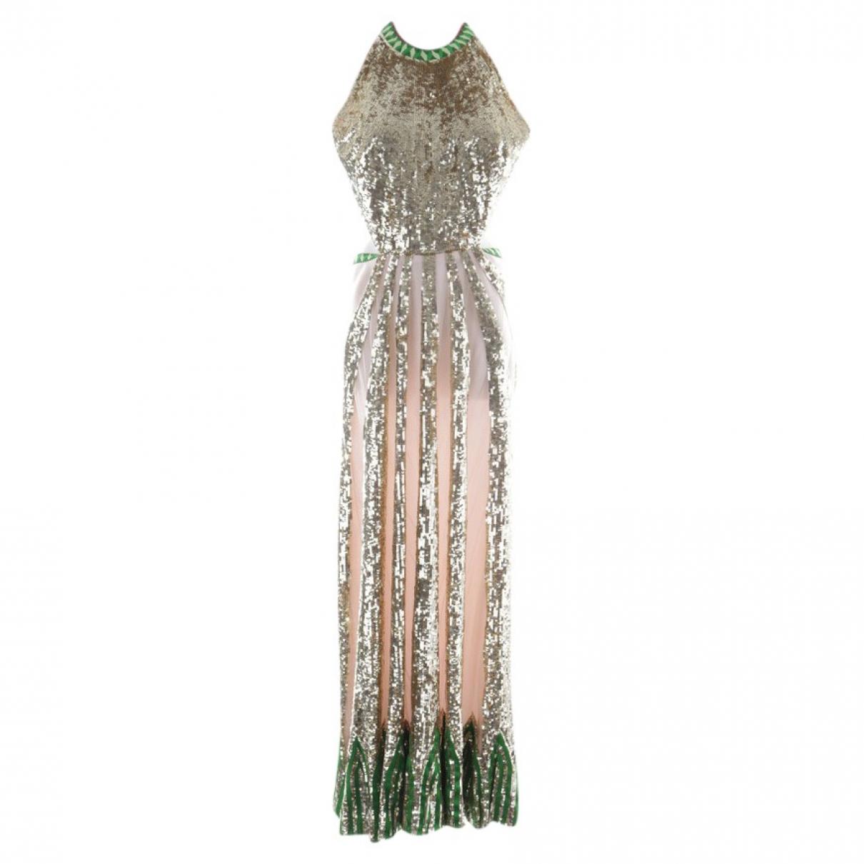Temperley London \N Kleid in  Rosa Viskose