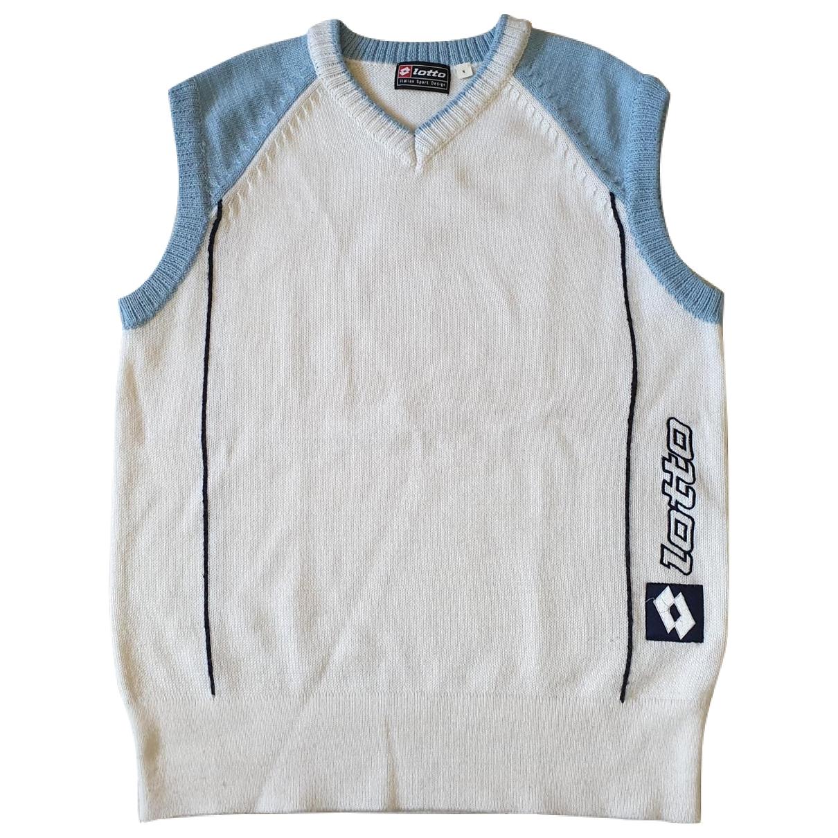 Lotto \N Pullover.Westen.Sweatshirts  in  Weiss Synthetik